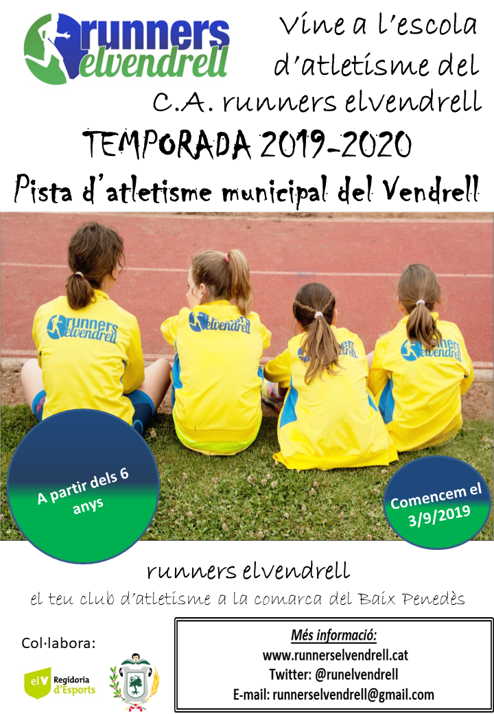 flyer Escola atletisme 2019